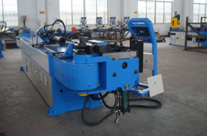 double head fully automatic tube bending machine
