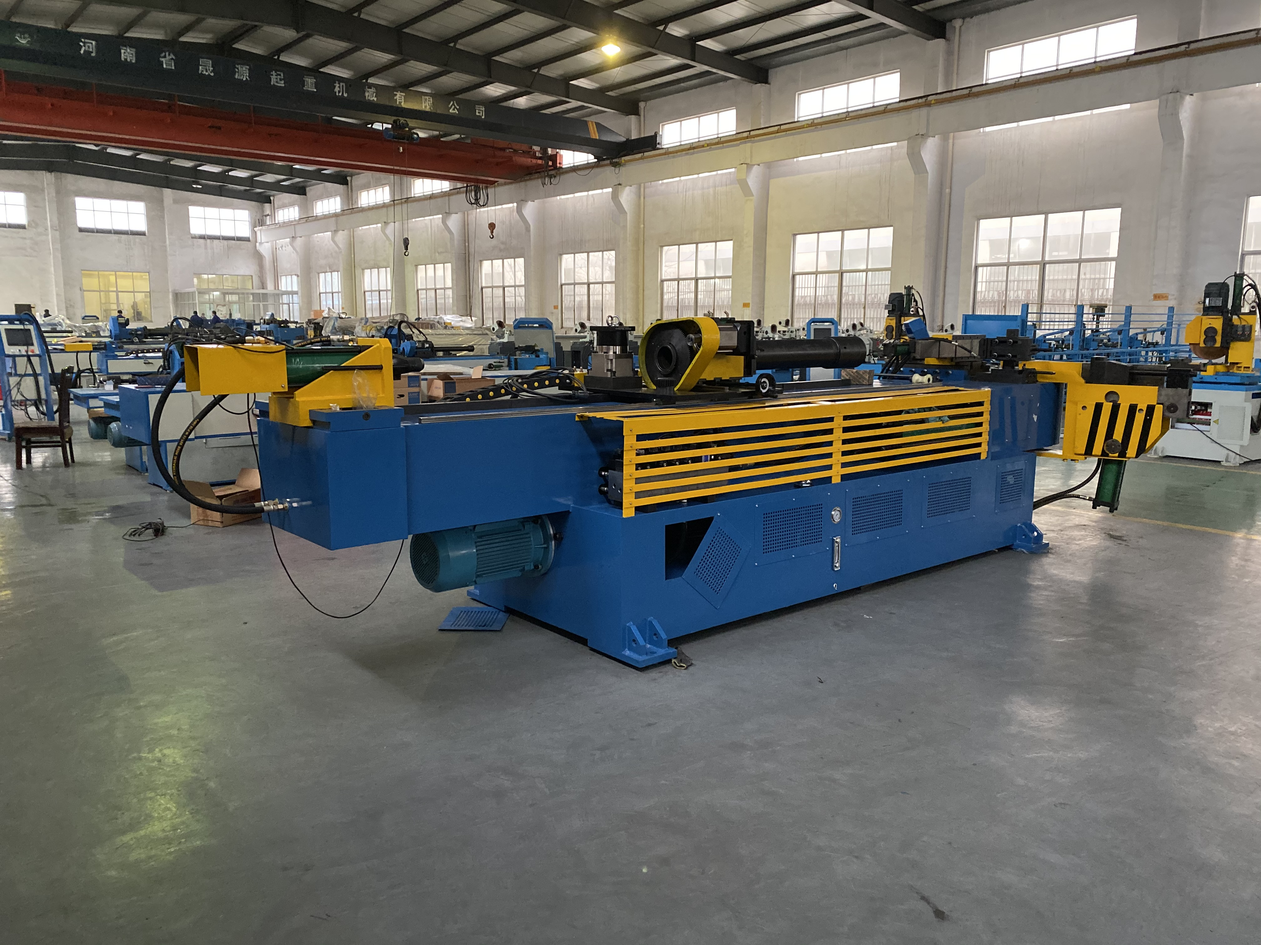 Portable Hydraulic 3 Axis Rolling Pipe Bender