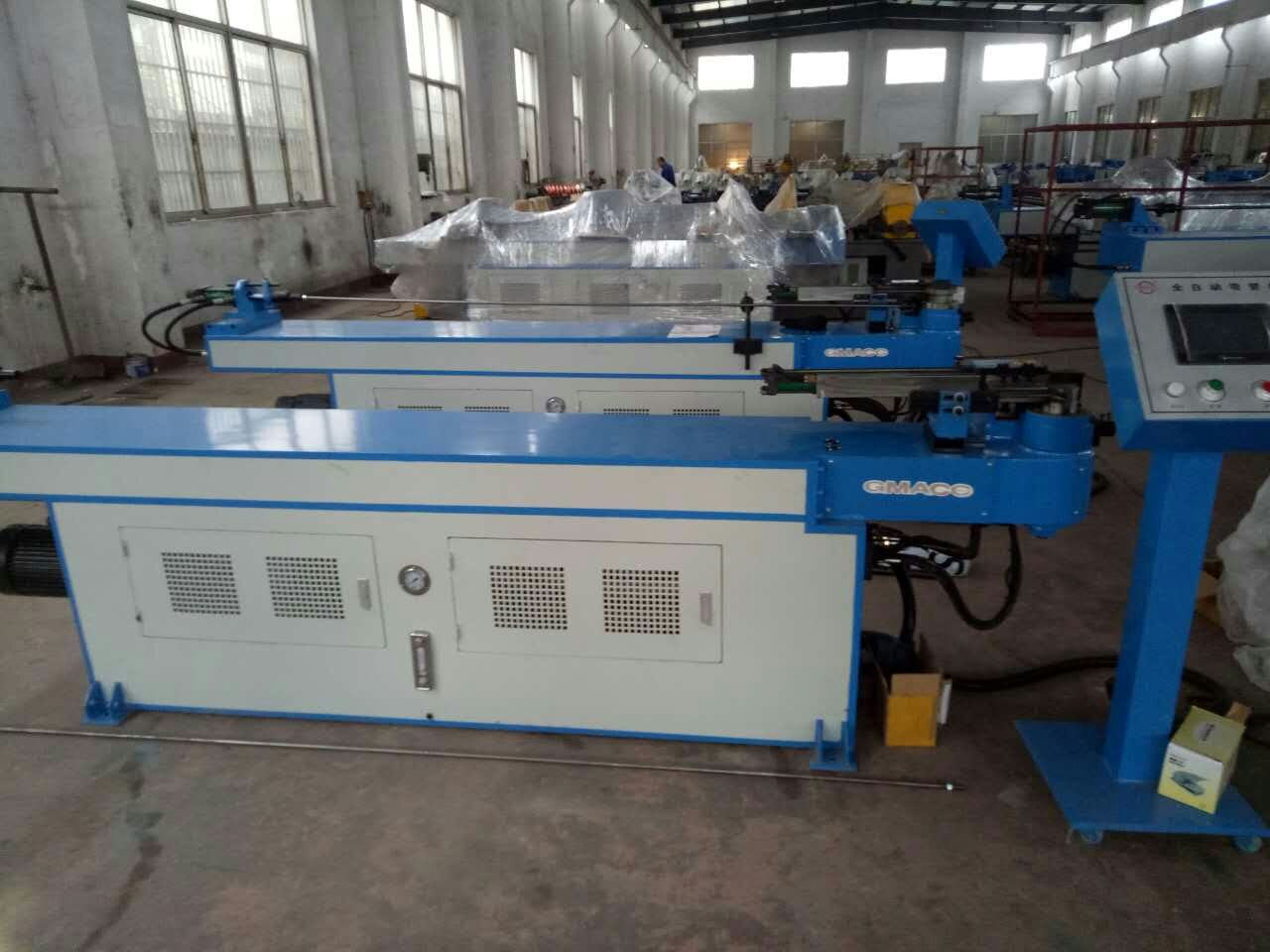 3 Roll 5 Axis Handmade Copper Tube Bending Machine