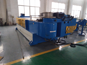 Muffler Electric Mandrel Hydraulic Ship Pipe Bending Machine