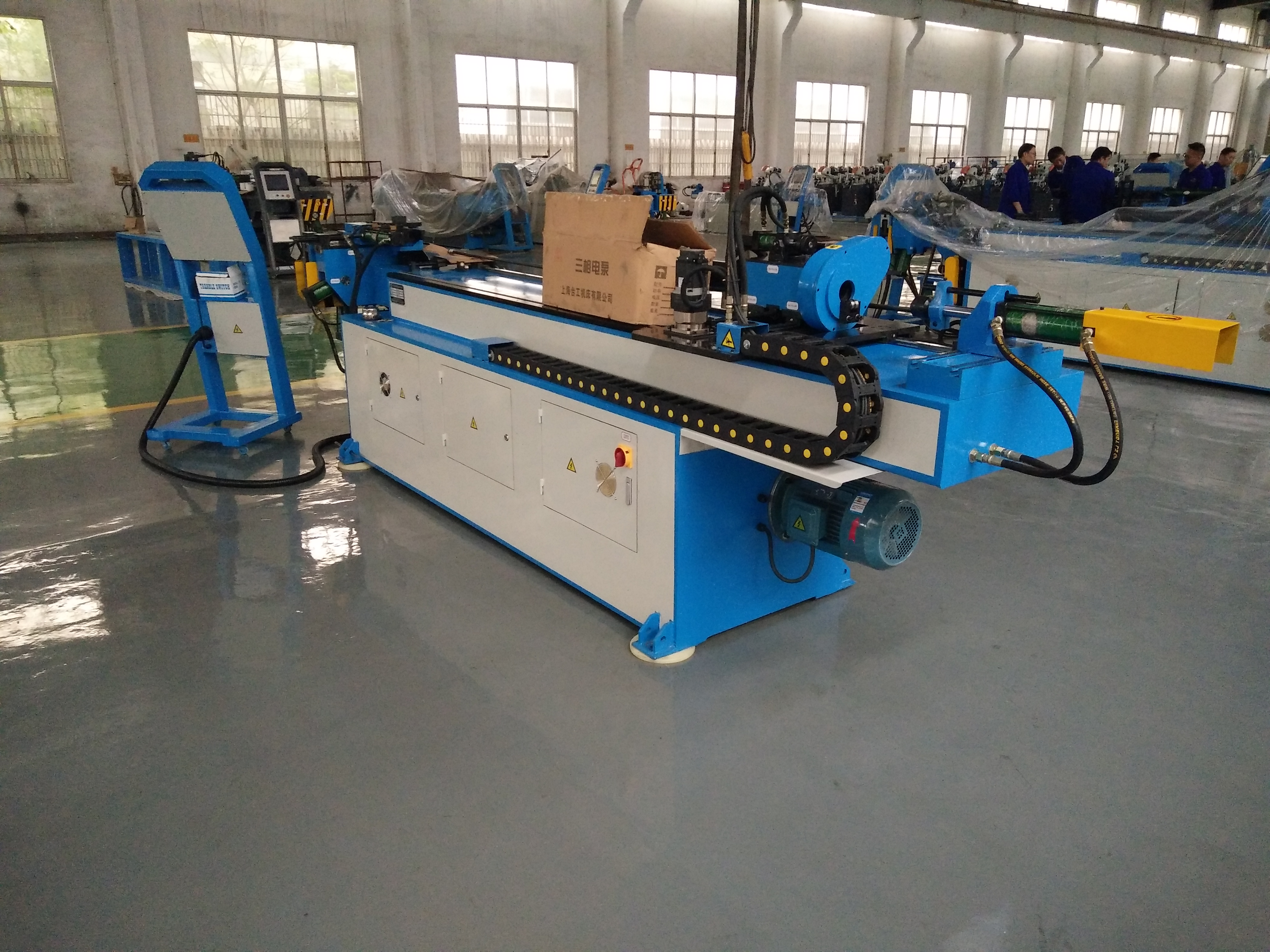 Cold 3 Roller Steel Pipe Bender GM-SB-50CNC