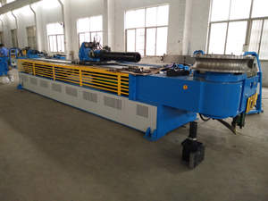 Large Diameter Mandrel Metal Pipe Bender GM-SB-140CNC-2A-1S
