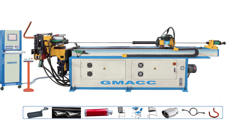 High Efficiency 3d CNC Pipe Bender with CE Certificate
