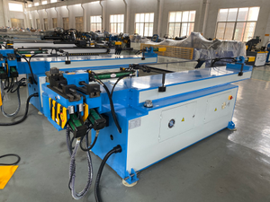 Electric Hydraulic 3 Roller Tube Bending Machine GM-50NCB